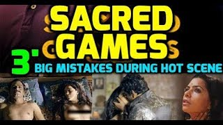 3, BIG Mistakes in SACRED GAMES | India's First Netflix Original