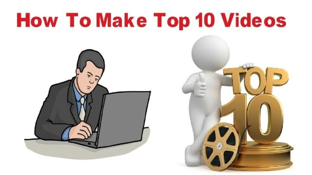 How To Make Top 10 Video Professionally Using Proshow Gold & Wondershare Filmora Bangla Tutorial