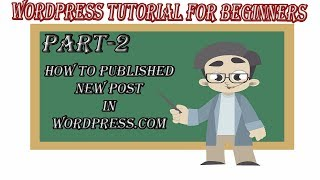 How to Published New Post On Your Wordpress Website 2018