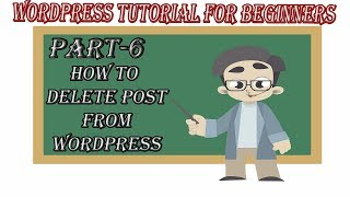 How To Delete Post From WordPress Website 2018
