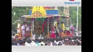 Rath Yatra 2018 organised by Iskcon Temple Surat