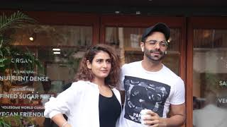 Fatima Sana Shaikh & Aparashakti Khurana SPOTTED At Sequel For Lunch