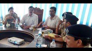 Advisor visits Bandipora; reviews security, developmental scenario