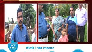 Mandrem MLA Sopte Visits Demolition Affected Families In Mopa