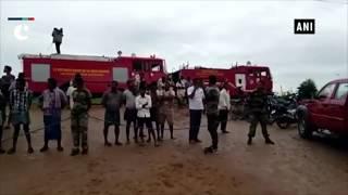Andhra Pradesh Rains: SDRF rescues 55 people trapped in flood water
