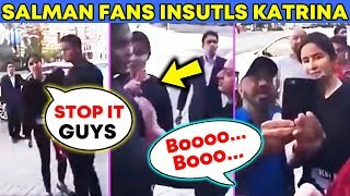 Salman Khan FANS INSULTS Katrina Kaif BADLY In USA