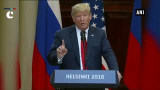 Diplomacy & dialogue are more preferable to conflict and hostility: US President Donald Trump