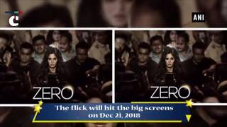 Zero: Shah Rukh Khan unveils Katrina Kaif's first look from Aanand L Rai's film