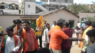 BJP TDP RALLY @ DOODH BOWLI (GHMC ELECTION)
