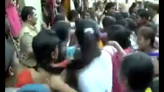 Protest For Burqa wearing IN a College!!!!!