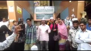 AAM ADMI PARTY   PRTOTEST IN HYDERABAD BAHADURPURA AGAINST DEMONATISATION  