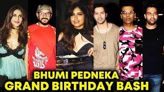 Bhumi Pednekar Grand Birthday Party | Varun Dhawan, Karan Johar, Vaani Kapoor And Many