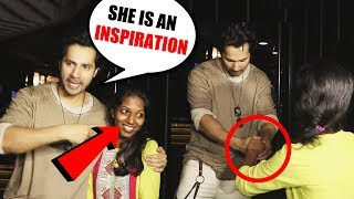 Varun Dhawan's Sweet Gesture Towards This Fan Will Melt Your Heart