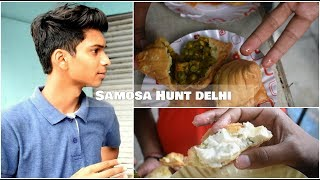 Samosa Hunt Delhi