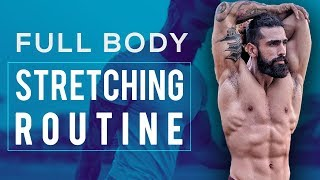 FULL BODY STRETCHING ROUTINE (COOLDOWN Exercises) | 8 Best Stretching Exercises to Prevent Injury