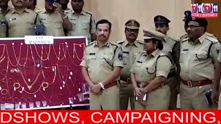 THIEVES TARGETING LOCKED HOUSES ARRESTED BY CYBER & CCS POLICE