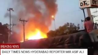 Major Fire Accident Under MogalPura - DT News