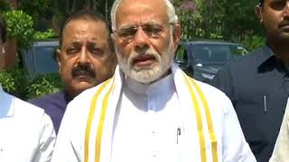 PM Shri Narendra Modi's statement to media ahead of the Monsoon Session of Parliament