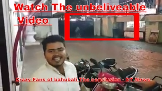 Bahubali The Conclusion | Crazy fans On Theatre | Hyderabad