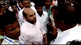 RSS Goons Beaten a Lecturer For Hosting a Indian Flag IN Nizamabad