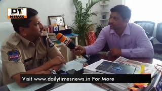 Cyber Crime | Addl Dcp Raguveer on Farud Cases and Cheating issue on Cyber Crime - DT News