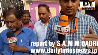 Daily time reporter s a m m quadri www.daliytimesnews.in
