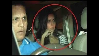 Former girlfriend Katrina Kaif reaches Galaxy Apartment to meet Salman Khan