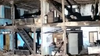 Six injured after a building collapsed in Bharuch