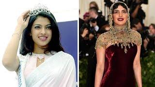 Priyanka Chopra's style transformation: Then and now | ETPanache