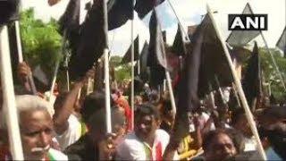PM faces massive protests in Chennai