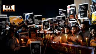 SIO   Protest Against   Asifa's Case   Demand to take Strict Action  