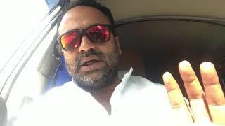 Khaja Bilal Ahmed | Going to Protest | Against Hindutva @Necklace Road