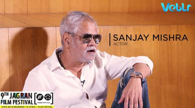 Audience interaction With Actor Sanjay Mishra At 9th Jagran Film Festival 2018 - Lucknow