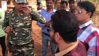 Waris Pathan | Stopped By Military @ Karnataka Border | MIM MLA