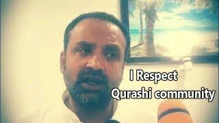 Khaja Bilal Ahmed | Gets Reply From Qureshi Community |