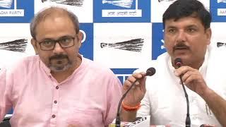 AAP Press Brief on Corruption Allegation charges on CS Anshu Prakash