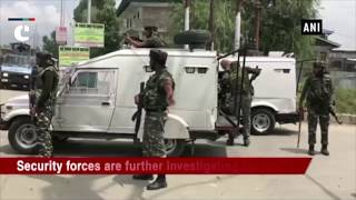 Terrorists open fire upon police party at J&K's Sopore bypass area in Jammu