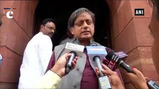 Rajnath Singh's statement on mob lynching wasn't satisfactory: Shashi Tharoor