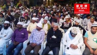 Gathering arranged by Raza Mustafa Commitee on the occasion of Millauddin in Hyderabad