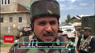 Suspected militants attack CRPF, Police party in Sopore