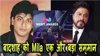 SRK Honoured With Webit Award I SRK Stardom