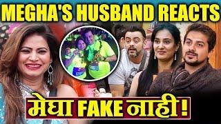 Megha Is NOT FAKE, Megha's Husband LASHES OUT At Aastad And Pushkar | Bigg Boss Marathi