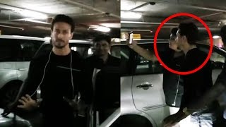 Baaghi Star Tiger Shroff Spotted At Mumbai Airport