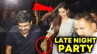 Deepika Padukone SPOTTED At Yauatcha Restaurant