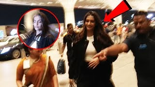 Fashion Diva Sonam Kapoor SPOTTED At Mumbai Airport