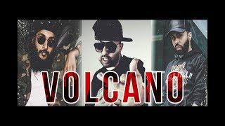 VOLCANO - Haji Springer ft Fateh Doe & Raxstar | DAVA | Desi Hip Hop