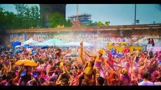 hyderabad public celebrating holi 2017