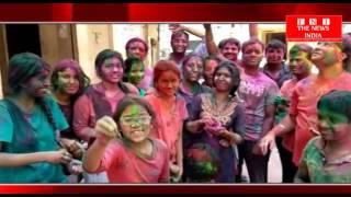 hyderabad people celebrated holi