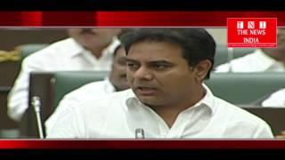 telengana minister K Tarak Rama Rao spoke in bidhansabha