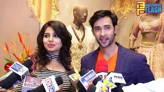 Karan Sharma With Wife Tiaara Sharma At SOLTEE Designer Store Launch